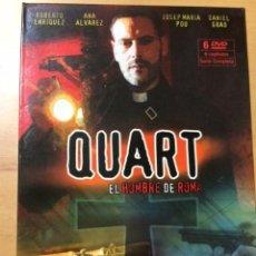 Series de TV: QUART: SERIE COMPLETA, BASADA EN OBRA ARTURO PEREZ REVERTE LA PIEL DEL TAMBOR. Lote 68976053
