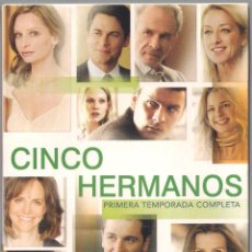 Series de TV: CINCO HERMANOS - PRIMERA TEMPORADA COMPLETA (20 CAPS) - BUENA VISTA HOME ENT.. 2007. Lote 69282493
