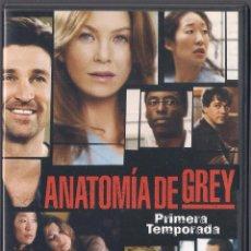 Cine: ANATOMIA DE GREY - PRIMERA TEMPORADA COMPLETA (9 CAPS) - BUENA VISTA ENT.. 2006. Lote 69307565