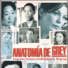 Series de TV: ANATOMIA DE GREY - SEGUNDA TEMPORADA COMPLETA (27 CAPS) - BUENA VISTA ENT.. 2006. Lote 174105320