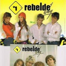 Series de TV: REBELDE WAY EPISODIOS 32 - 43 (3 DISCOS). Lote 170107437
