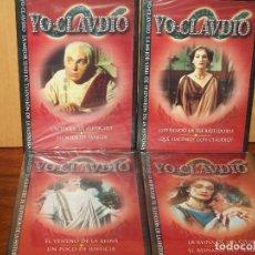 Series de TV: YO CLAUDIO - SERIE DE TELEVISION EN DVD - NUEVO PRECINTADOS 6 DVDS. Lote 70170521