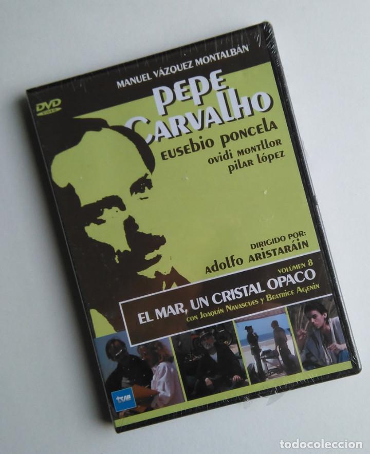 PEPE CARVALHO, EL MAR, UN CRISTAL OSCURO. EPISODIO COMPLETO DE LA SERIE DE TV DE VAZQUEZ MONTALBAN (Series TV en DVD)