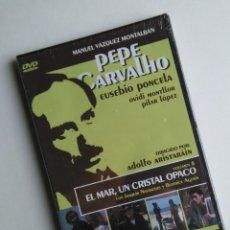 Series de TV: PEPE CARVALHO, EL MAR, UN CRISTAL OSCURO. EPISODIO COMPLETO DE LA SERIE DE TV DE VAZQUEZ MONTALBAN. Lote 71932475