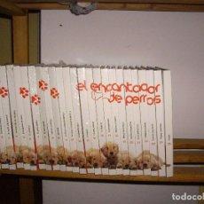 Cine: 25 LIBROS CON DVD, COLECCION COMPLETA. EL ENCANTADOR DE PERROS. 1ª TEMPORADA CASI SIN USAR.. Lote 72646935