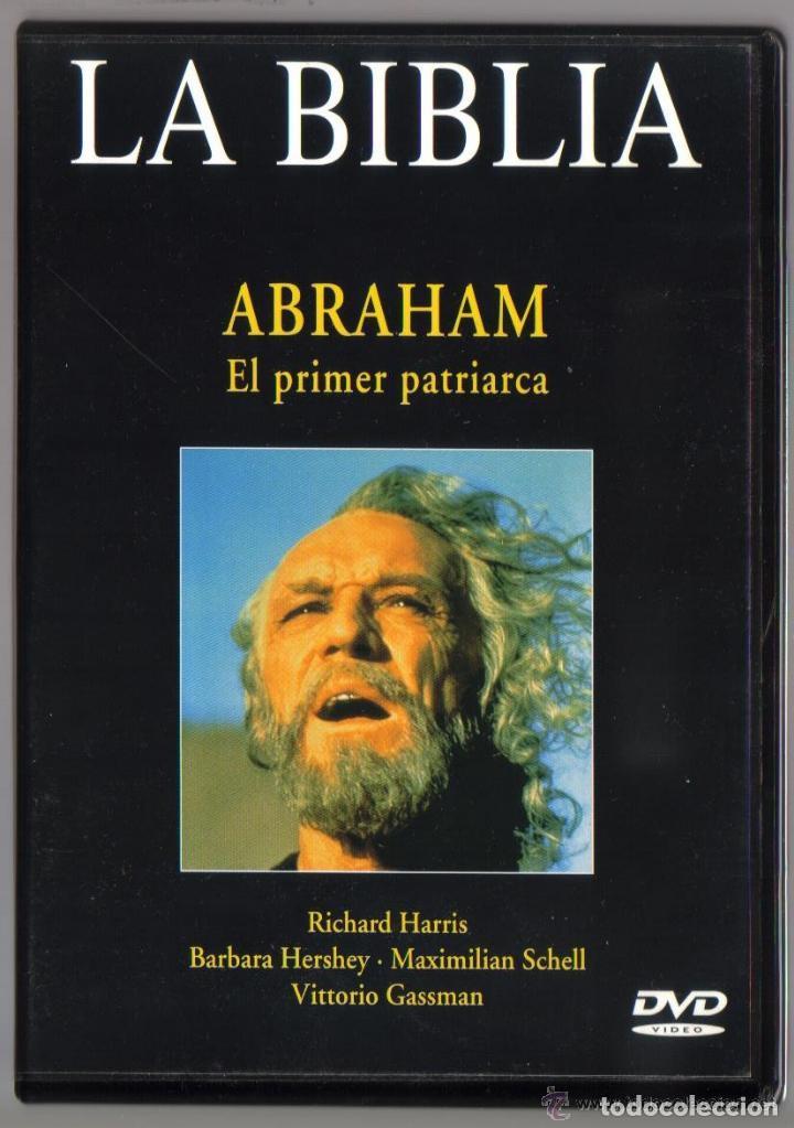 DVD MINISERIE - LA BIBLIA ABRAHAM EL PRIMER PATRIARCA - COMO NUEVO - UN SOLO USO (Series TV en DVD)