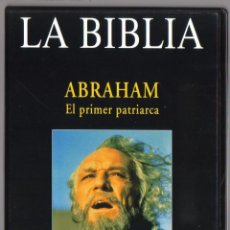 Series de TV: DVD MINISERIE - LA BIBLIA ABRAHAM EL PRIMER PATRIARCA - COMO NUEVO - UN SOLO USO . Lote 73589531