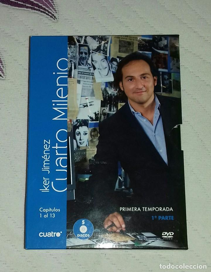 Dvd cuarto milenio primera temporada - Sold through Direct Sale ...