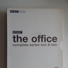 Series de TV: BBC DVD. THE OFFICE. COMPLETE SERIES ONE & TWO - 3 DISC SET - ENGLISH. Lote 73738227