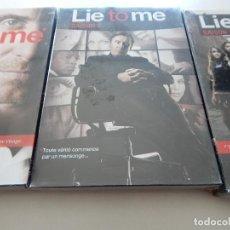 Cine: LIE TO ME. SAISON 1 + 2 + 3 - FRANÇAIS - NEUF. Lote 73855811