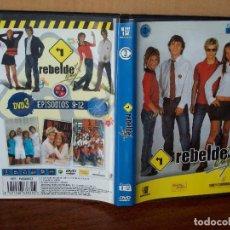Series de TV: REBELDE WAY - VOLUMEN 3 - EPISODIOS 9 AL 12 - DVD. Lote 170337033
