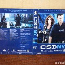 Series de TV: PACK CSI:NY - EN DVD - TEMPORADA 6 COMPLETA EPISODIOS 6.1 AL 6.23 - 6 DVDS. Lote 74394259