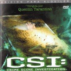 Series de TV: DVD CSI: PELIGRO SEPULCRAL . Lote 76085047