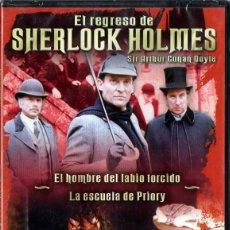 Series de TV: EL REGRESO DE SHERLOCK HOLMES: EL HOMBRE DEL LABIO TORCIDO - LA ESCUELA DE PRIORY. Lote 76407391