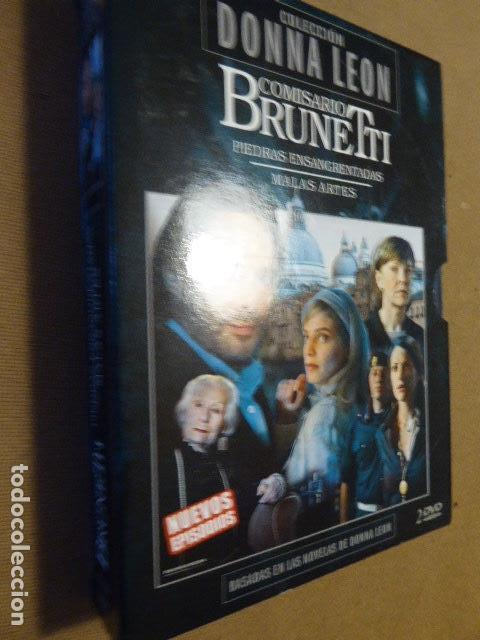 COMISARIO BRUNETTI. COLECCION DONNA LEON. ESTUCHE CON 2 DVD. (Series TV en DVD)