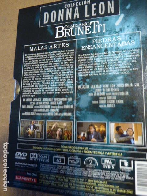 Series de TV: COMISARIO BRUNETTI. COLECCION DONNA LEON. ESTUCHE CON 2 DVD. - Foto 2 - 78254389