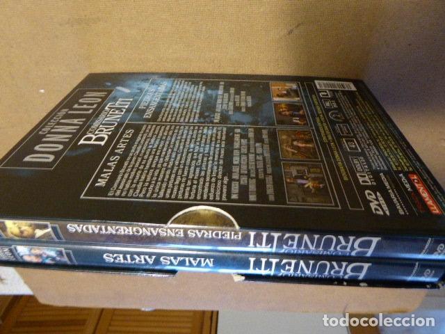 Series de TV: COMISARIO BRUNETTI. COLECCION DONNA LEON. ESTUCHE CON 2 DVD. - Foto 3 - 78254389