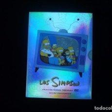Series de TV: LOS SIMPSON, COLECCION PRIMERA TEMPORADA EDICION COLECCIONISTA 3 DVD COMO NUEVOS. Lote 78923061