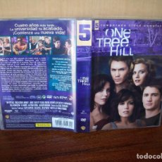 Séries TV: PACK ONE TREE HILL - QUINTA TEMPORADA COMPLETA EN DVD - 5 DVDS. Lote 79006345