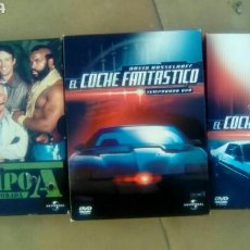 Cine: LOTE SERIES DVD EL COCHE FANTÁSTICO TEMPORADA 1 Y 2. EQUIPO A SEGUNDA TEMPORADA.. Lote 79256197