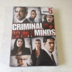 Series de TV: CRIMINAL MINDS THE FIFTH SEASON/MENTES CRIMINALES 5 TEMPORADA V.O/NUEVA SIN ABRIR!VERSION EN INGLES. Lote 150154660