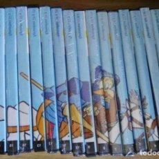 Cine: DON QUIJOTE DE LA MANCHA - SERIE COMPLETA DIBUJOS 18 DVD - NUEVA. Lote 80572451