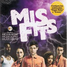 Series de TV: DVD MISFITS 3ª TEMPORADA ( 3 DVD). Lote 80596166