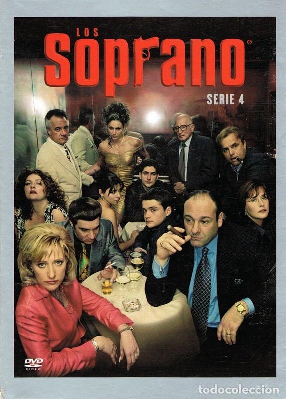 DVD LOS SOPRANO TEMPORADA 4ª ( 4 DISCOS) (Series TV en DVD)
