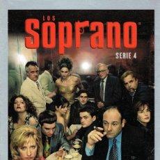 Series de TV: DVD LOS SOPRANO TEMPORADA 4ª ( 4 DISCOS). Lote 80600910