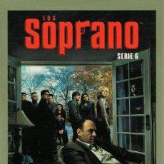Series de TV: DVD LOS SOPRANO TEMPORADA 6ª ( 4 DISCOS). Lote 80601090