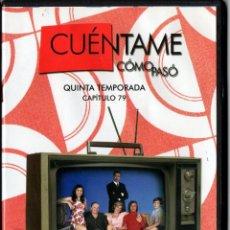 Series de TV: CUÉNTAME CÓMO PASÓ, CAPÍTULO 79: OCHI CHORNIA. Lote 80891555