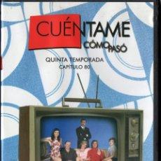 Series de TV: CUÉNTAME CÓMO PASÓ, CAPÍTULO 80: HELLO MOSCÚ, VODKA CON MARTINI. Lote 80891655