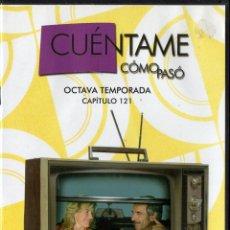 Series de TV: CUÉNTAME CÓMO PASÓ, CAPÍTULO 121: POR EL HUMO SE SABE DÓNDE ESTÁ EL FUEGO. Lote 80891743