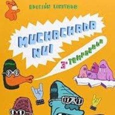 Series de TV: MUCHACHADA NUI - 3ª TEMPORADA EN CAJA DOBLE DVD EDICIÓN LIMITADA ,. Lote 82067912