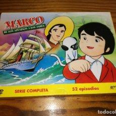 Séries TV: MARCO DE LOS APENINOS A LOS ANDES, SERIE COMPLETA EN DVD, 52 EPISODIOS EN ESPAÑOL.. Lote 82691796