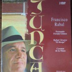 Cine: SERIE COMPLETA 2 DVD JUNCAL (1.988) DE JAIME DE ARMIÑÁN. CON PACO RABAL. ¡COMO NUEVA!. Lote 83191276