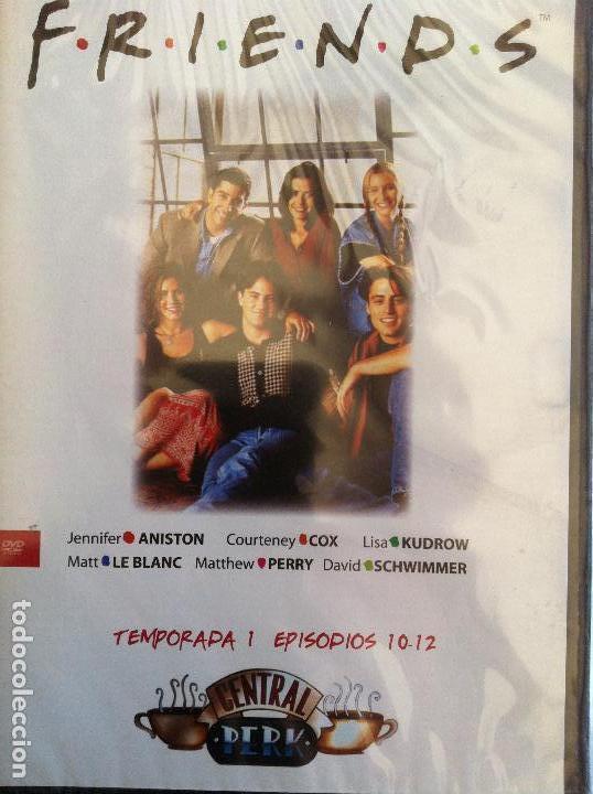 FRIENDS TEMPORADA 1 EPISODIOS 10-12 (Series TV en DVD)
