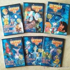 Cine: ULISES 31 SERIE COMPLETA 5 DVDS - USADOS PERO MUY POCO -REFMENOEN. Lote 83425064