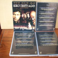 Series de TV: PACK SECUESTRADO - LA SERIE COMPLETA EN DVD - 3 DVDS. Lote 83470928