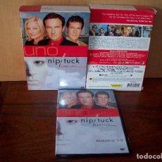 Series de TV: PACK NIP/TUCK -A GOLPE DE BISTURI - PRIMERA TEMPORADA COMPLETA EN DVD - 5 DVDS. Lote 93657872