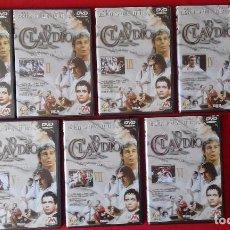 Series de TV: 7 DVD: YO, CLAUDIO, HERBERT WISE 1976. BBC. METROVIDEO-MOVIERECORD 1999.DIFICIL BUEN ESTADO.. Lote 83702640