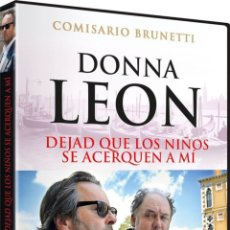 Cine: DONNA LEON: DEJAD QUE LOS NIÑOS SE ACERQUEN A MI (LASSET DIE KINDER ZU MIR KOMMEN). Lote 105957212