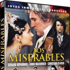 Cine: LOS MISERABLES (2000) (LES MISERABLES). Lote 128308134