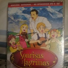 Series de TV: DVD TV SERIE SONRISAS Y LÁGRIMAS 1991 - EDICIÓN INTEGRAL - 40 EPISODIOS EN 6 DVD -REFMENOEN. Lote 84469580