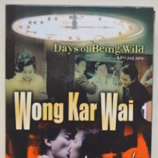 Cine: PACK - WONG KAR - WAI / DAYS OF BEING WILD - AS TEARS GO BY. Lote 84829036