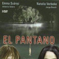 Series de TV: EL PANTANO SERIE COMPLETA DESCATALOGADA,NUEVA 3 DVDS ,EMMA SUAREZ. Lote 85713848