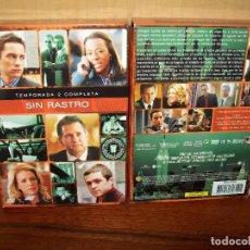 Séries TV: PACK SIN RASTRO - SEGUNDA TEMPORADA COMPLETA EN DVD - 4 DVDS. Lote 86308608