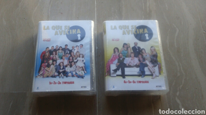 dvd. la que se avecina. temporadas 1, 2, 3, 4, - Buy TV Series on ...