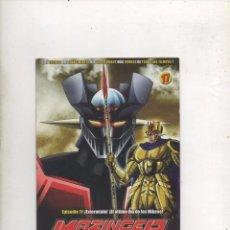 Series de TV: DVD MAZINGER Z EDICIÓN IMPACTO EPISODIO 17.DA. Lote 87678856