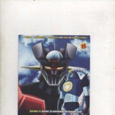 Series de TV: DVD MAZINGER Z EDICIÓN IMPACTO EPISODIO 14.DA. Lote 87678988